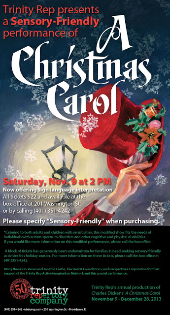 Trinity Rep Sensory Friendly Christmas Carol